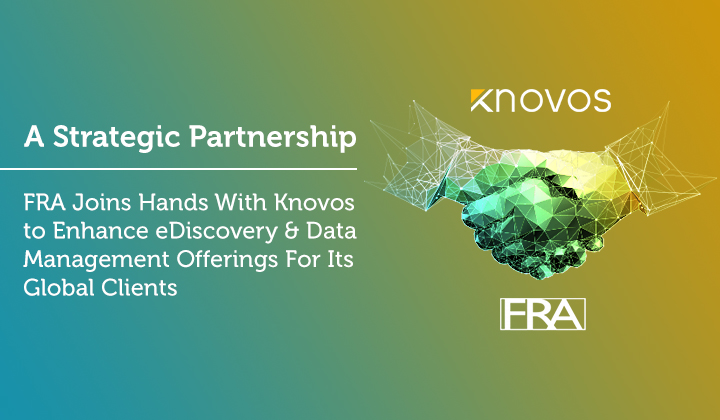 FRA Join Hands with Knovos